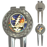 Golf Divot Repair Tool : Grateful Dead - Steal Your Face - Cosmic
