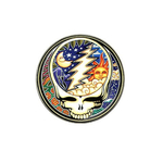 Golf Ball Marker : Grateful Dead - Steal Your Face - Cosmic