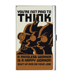 Card Holder : Futurama - You're Not Paid To Think!