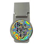 Money Clip (Round) : Allman Brothers Band - Fractal