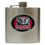 Liquor Hip Flask (6oz) : Alabama Crimson Tide