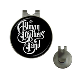 Golf Hat Clip with Ball Marker : Allman Brothers Band (black-white)