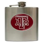 Liquor Hip Flask (6oz) : Texas A&M Aggies