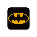 Coasters (4 Pack - Square) : Batman Shield