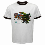 Ringer T-Shirt : Jefferson Airplane - After Bathing at Baxter's