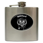 Liquor Hip Flask (6oz) : Motorhead