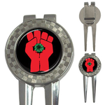 Golf Divot Repair Tool : Gonzo Fist - Hunter S. Thompson