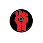 Golf Ball Marker : Gonzo Fist - Hunter S. Thompson
