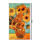 Card Holder : Vincent Van Gogh - Sunflowers