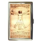 Cigarette Case : Leonardo da Vinci - Vitruvian Man