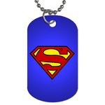 Dog Tag Necklace : Superman Shield
