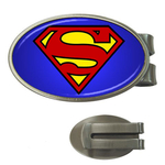 Money Clip (Oval) : Superman Shield