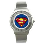 Roman Dial Watch : Superman Shield