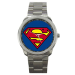 Casual Sport Watch : Superman Shield
