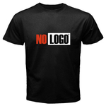 Black T-Shirt : No Logo