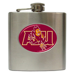 Liquor Hip Flask (6oz) : Arizona State Sun Devils