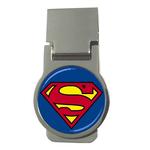 Money Clip (Round) : Superman Shield