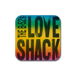 Coasters (4 Pack - Square) : B-52s - Love Shack