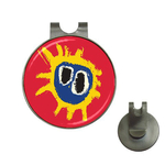 Golf Hat Clip with Ball Marker : Primal Scream - Screamadelica