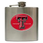 Liquor Hip Flask (6oz) : Texas Tech Red Raiders