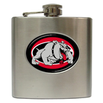 Liquor Hip Flask (6oz) : Georgia Bulldogs