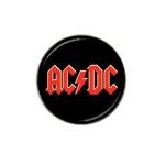 Golf Ball Marker : AC/DC