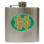 Liquor Hip Flask (6oz) : Notre Dame Fighting Irish
