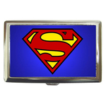 Cigarette Case : Superman Shield