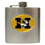 Liquor Hip Flask (6oz) : Missouri Tigers