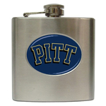 Liquor Hip Flask (6oz) : Pittsburgh Panthers