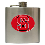 Liquor Hip Flask (6oz) : North Carolina State Wolfpack