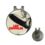 Golf Hat Clip with Ball Marker : Led Zeppelin