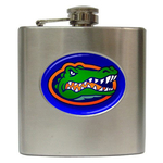 Liquor Hip Flask (6oz) : Florida Gators