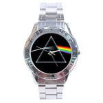 Chrome Dial Watch : Pink Floyd - Dark Side of the Moon