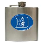 Liquor Hip Flask (6oz) : Duke Blue Devils