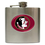 Liquor Hip Flask (6oz) : Florida State Seminoles