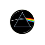 Golf Ball Marker : Pink Floyd - Dark Side of the Moon