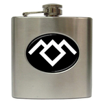 Liquor Hip Flask (6oz) : Twin Peaks - Owl Cave