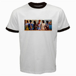 Ringer T-Shirt : Pink Floyd - Back Catalogue