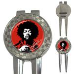 Golf Divot Repair Tool : Jimi Hendrix