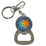 Bottle Opener Keychain : Widespread Panic - Sun & Moon