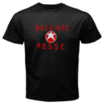 Black T-Shirt : Red Brigades - Brigate Rosse