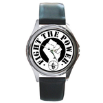 Silver-Tone Watch : Public Enemy - Fight the Power