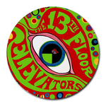 Mousepad (Round) : 13th Floor Elevators - The Psychedelic Sounds