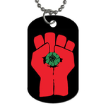 Dog Tag Necklace : Gonzo Fist - Hunter S. Thompson
