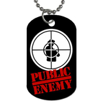 Dog Tag Necklace : Public Enemy