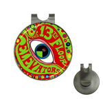 Golf Hat Clip with Ball Marker : 13th Floor Elevators - The Psychedelic Sounds