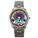 Casual Sport Watch : Grateful Dead - Skull & Roses