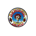 Golf Ball Marker : Grateful Dead - Skull & Roses