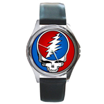 Silver-Tone Watch : Grateful Dead - Steal Your Face